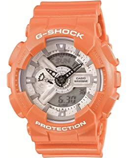 Casio G-Shock Orange Watch GA110SG-4A