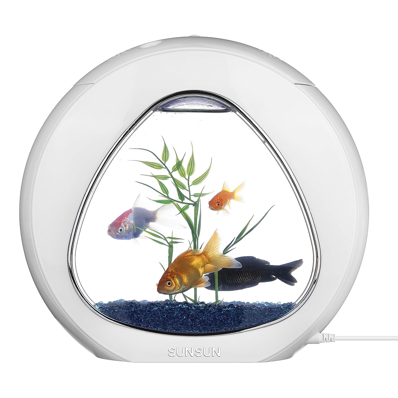 Tmei Acquario pleto LED Fish Tank per Pesci Tartarughe con Filtro