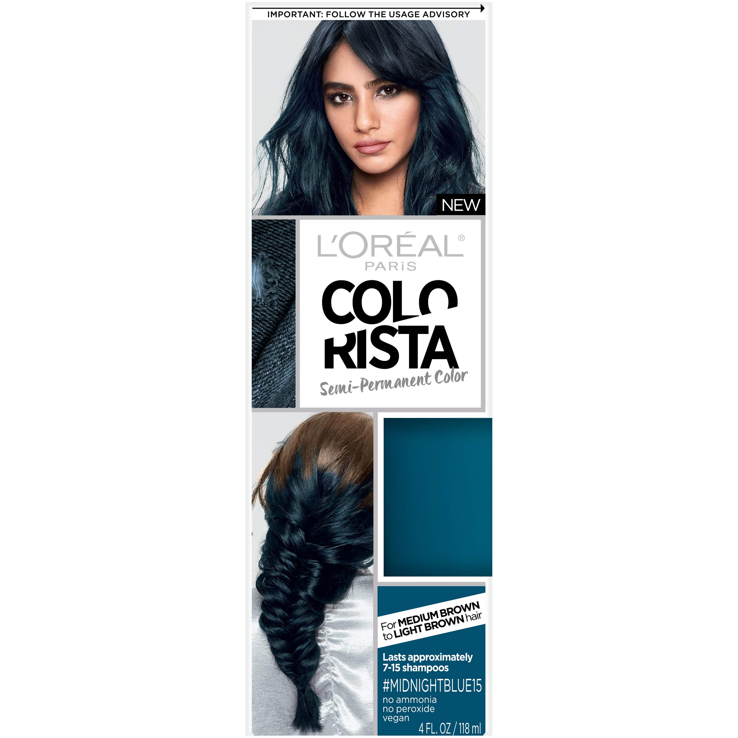 Amazon Loreal Paris Hair Color Colorista Semi Permanent For