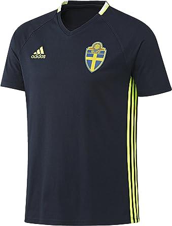 adidas Camiseta de diseño de la Asociación Sueca de Suecia ...