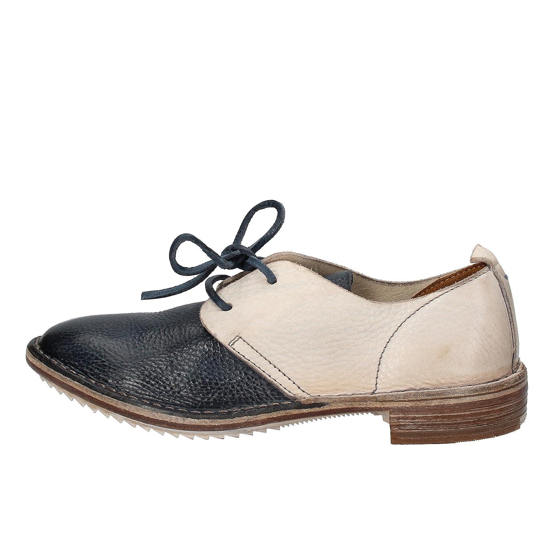 c2e93465e6e5 MOMA Elegante Damen 37 EU Grau Blau Leder  Amazon.de  Schuhe   Handtaschen