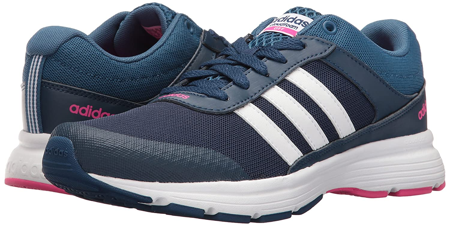 Adidas City Neo Women's Cloudfoam Vs City Adidas W Running Shoe B01HSIFDV2 9 B(M) US|Mystery Blue/White/Shock Pink d111c4