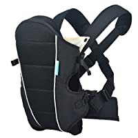 HarnnHalo 3 in 1 Baby Carrier Ergonomic Child Carrier Back Front Carriers M09 Black/Grey