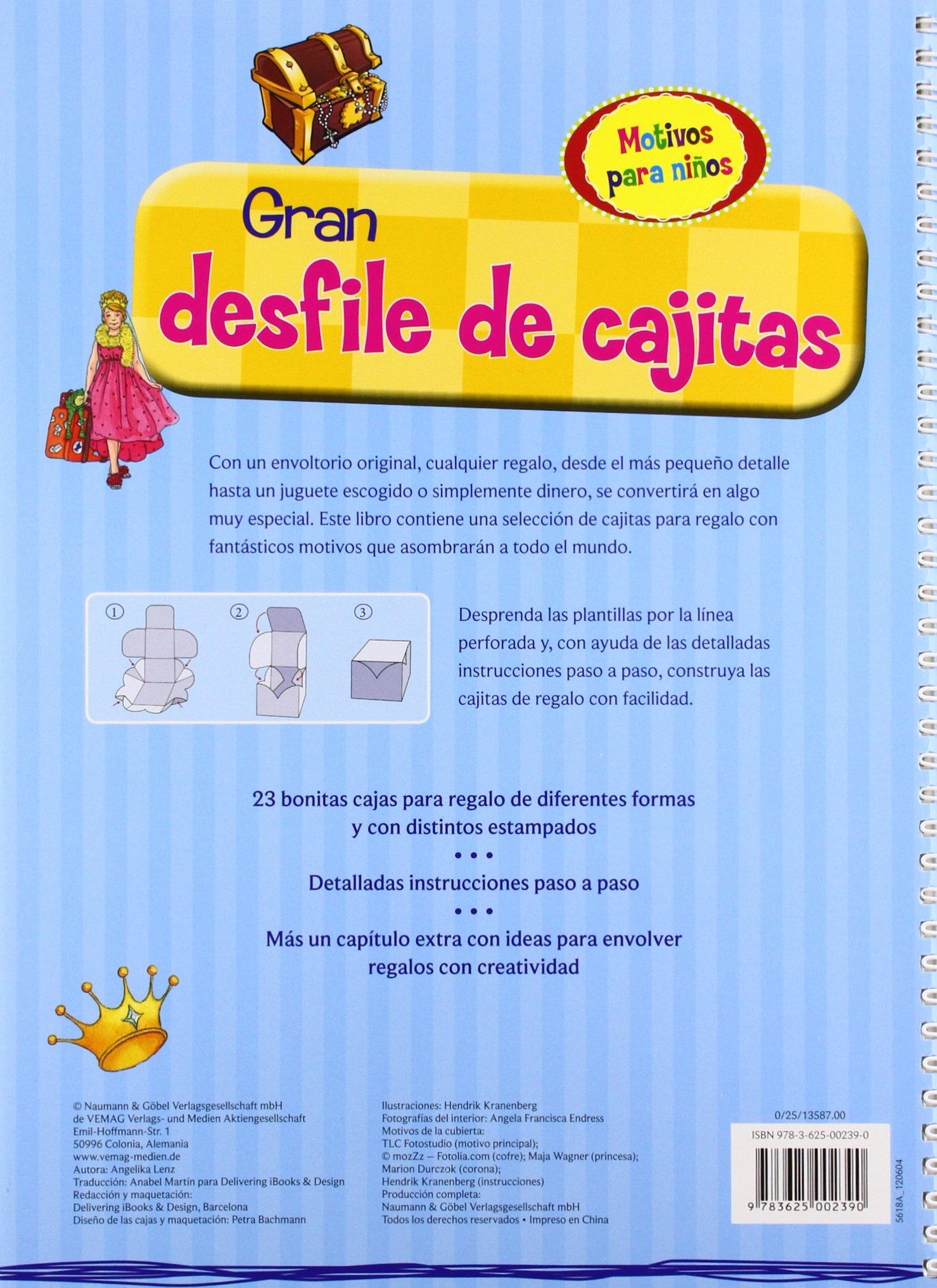 MOTIVOS PARA NIÑOS (GRAN DESFILE DE CAJITAS): LENZ(002390): 9783625002390: Amazon.com: Books