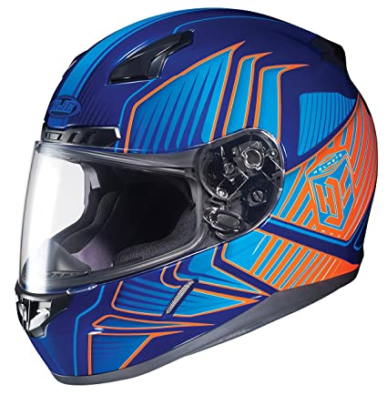 HJC CL-17 Redline Full-Face Motorcycle Helmet (MC-26, Medium