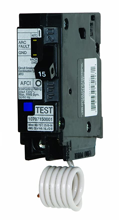 murray mp115afc 15 amp 1 pole 120 volt combination type arc fault rh amazon com