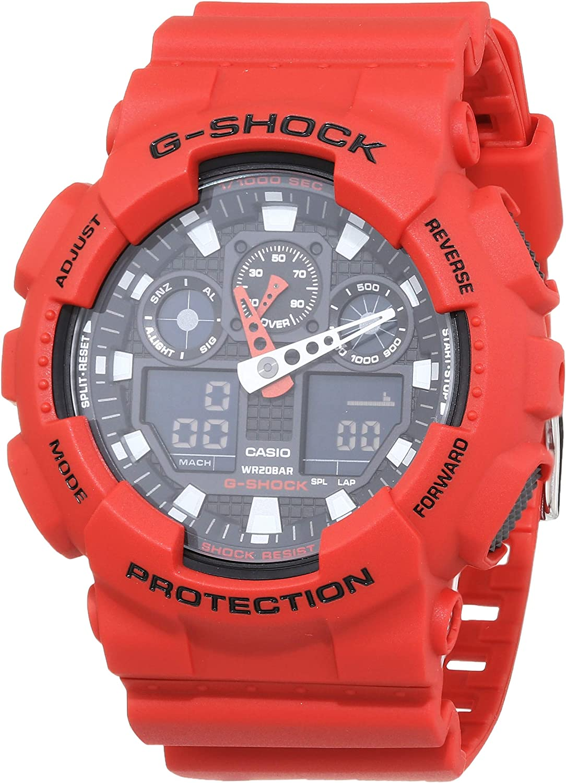 Casio G-Shock Men's Watch GA-100B-4AER: G-Shock: Amazon.co.uk: Watches