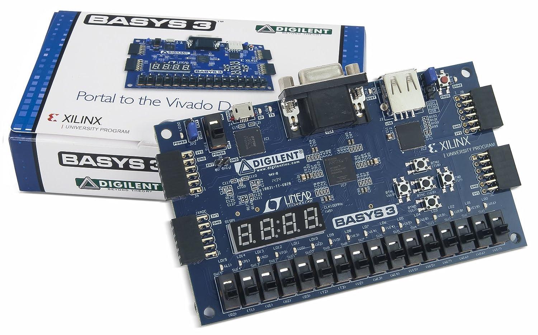 DIGILENT 410 –  183 Basys 3 Artix 7 FPGA Trainer Board 410-183