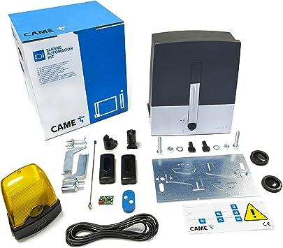 Kit de puerta corredera 8K01MS-003, 24 V, 400 kg, incluye 1 mando a distancia: Amazon.es: Bricolaje y herramientas