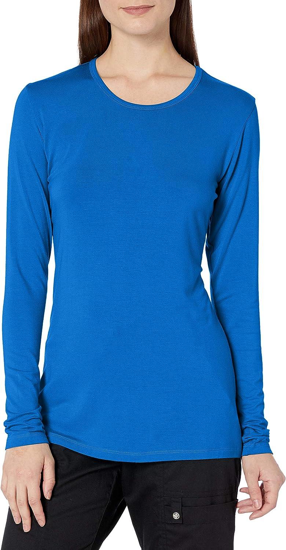 Cherokee Women's Long Sleeve Knit Shirt