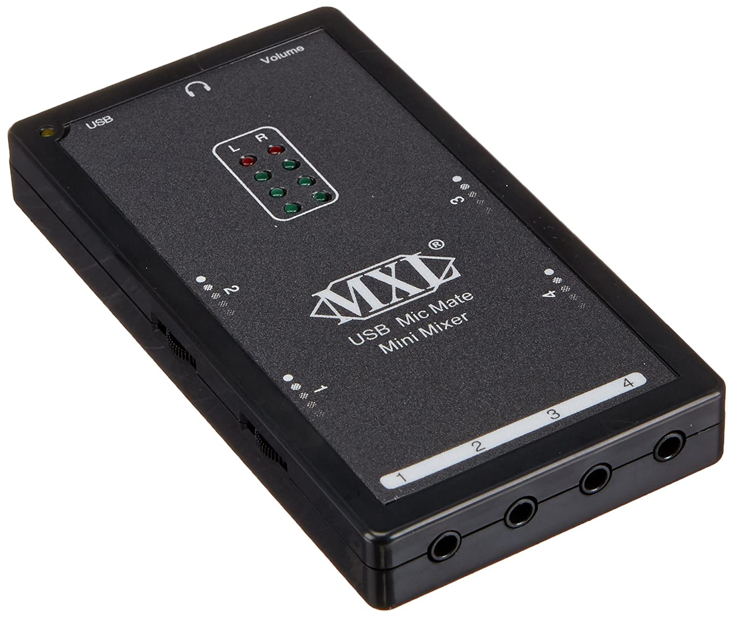 Mxl Mic Mate Mini Mixer 1 Channel Audio Interface Musical Instruments