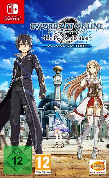 Sword Art Online: Hollow Realization Deluxe Edition - Nintendo Switch [Importación alemana]: Amazon.es: Videojuegos