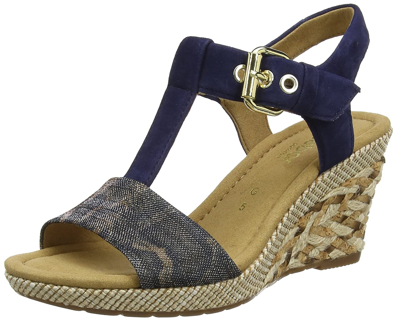 Gabor Shoes Comfort, Sandales Bout Ouvert Femme 62.82