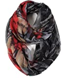 Scarfand's Romantic Rose & Flower Spring Fashion Lightweight Versatile Infinity Scarf