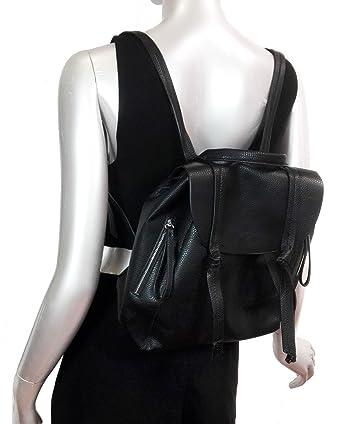 Zara - Mochila casual de Poliéster Mujer Negro Negro Medium: Amazon.es: Ropa y accesorios