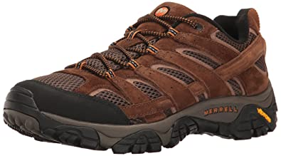 9912978df6fe21 Merrell Men s Moab 2 Vent Low Rise Hiking Boots  Amazon.co.uk  Shoes ...