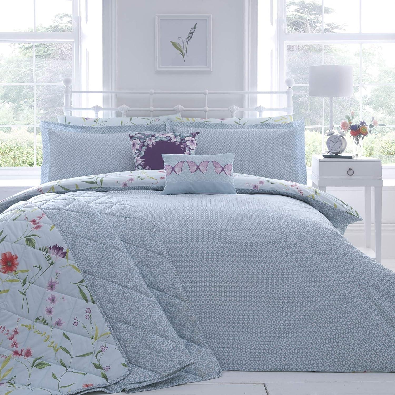 Moderne Vanessa Bettwäsche Bettbezug Mit 2 Kissenbezügen Für King