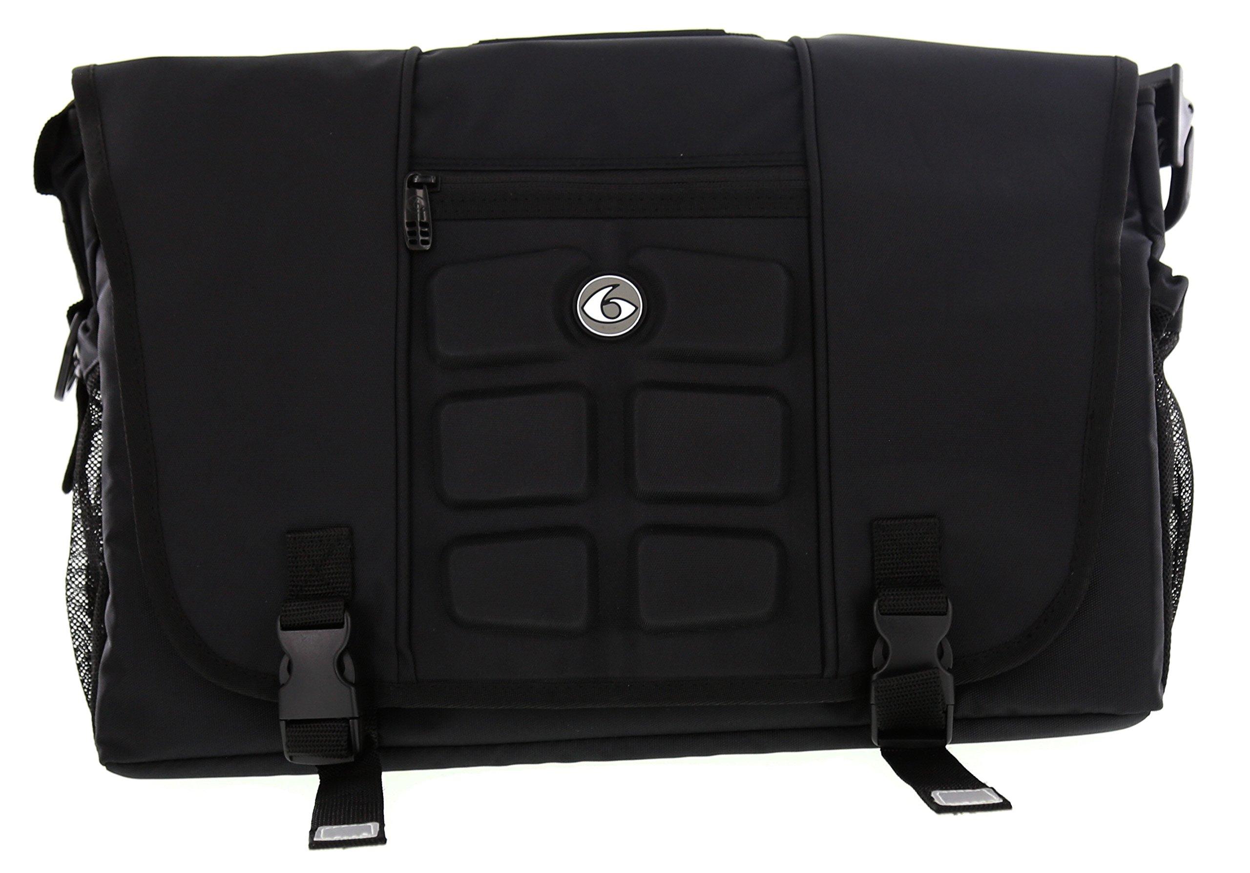 6 Pack Fitness Titan Messenger Stealth Black