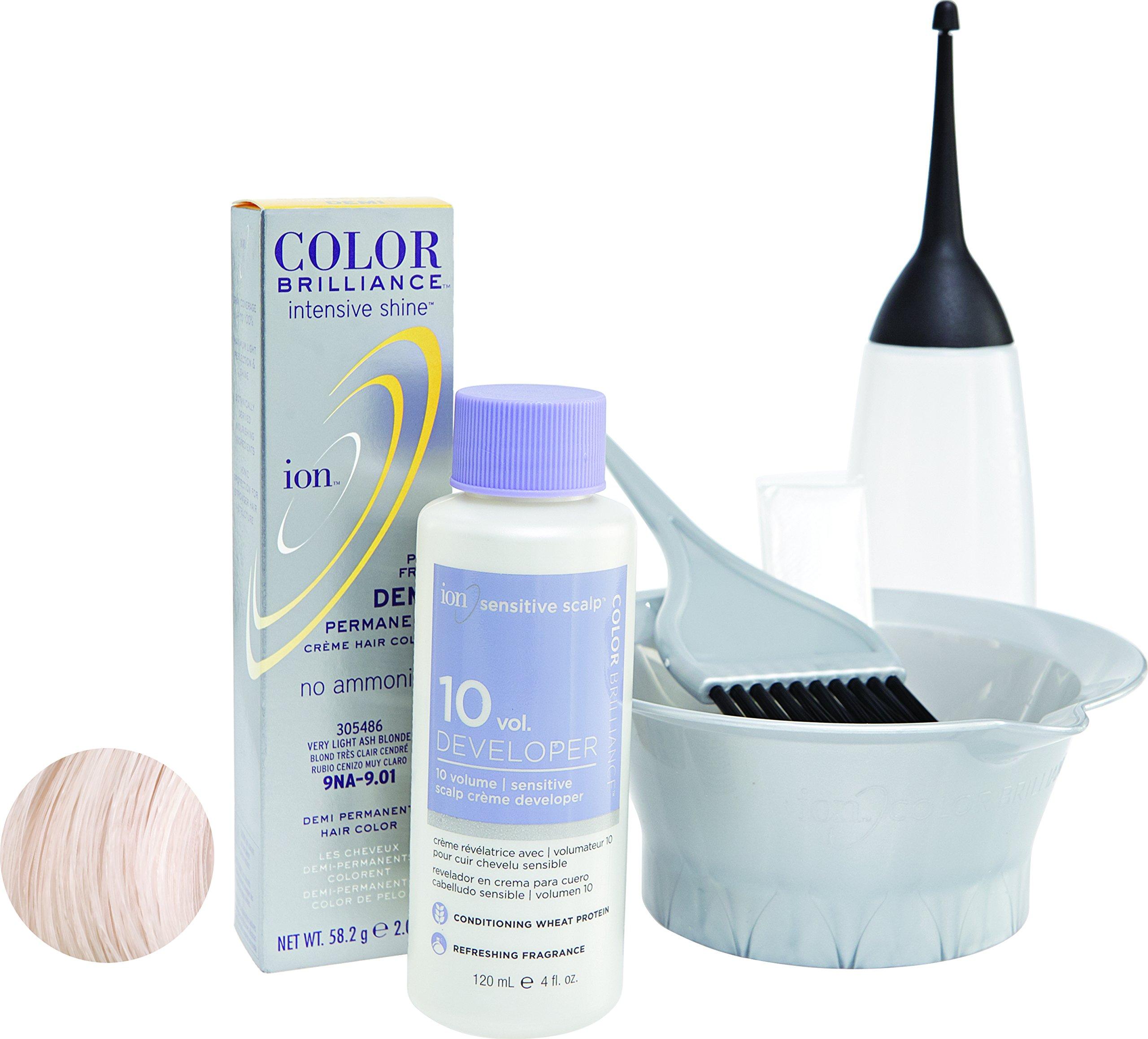 Amazon Ion Intensive Shine 8n Light Natural Blonde Demi