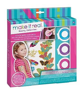 Make It Real - Colores para Decorar el Cabello (2302): Amazon.es: Juguetes y juegos