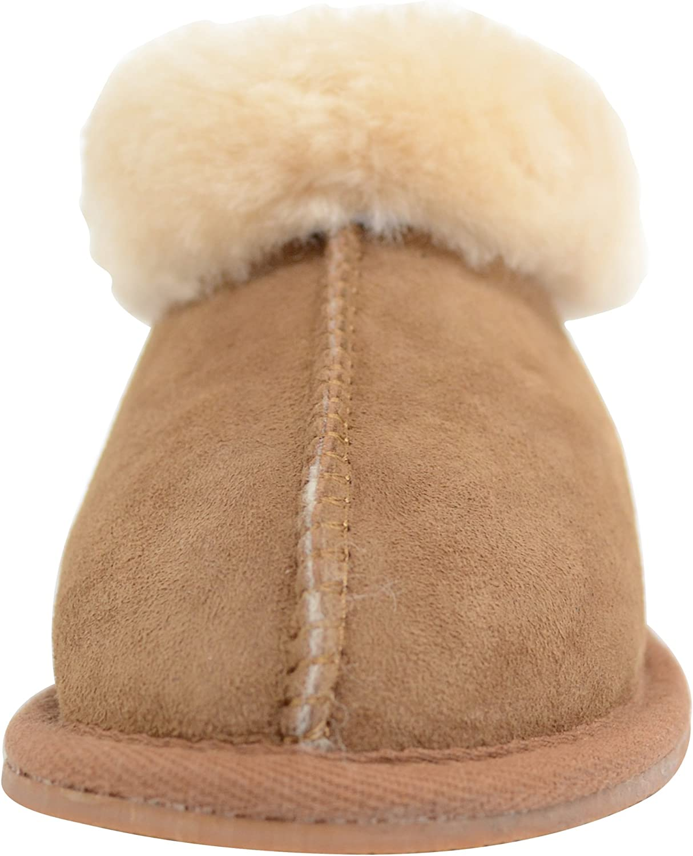 Soft sheepskin slippers T28 children
