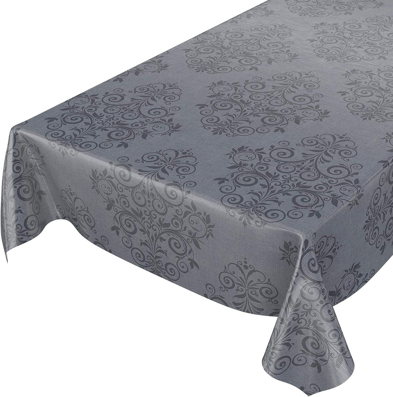 Toile Cirée Nappe Table au Mètre Uni Monochrome Lavable Carré Couleurs Uni Roulé