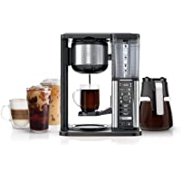 Ninja Specialty Fold-Away Frother (CM407) Coffee Maker, Single Serve to 10 Cup (50 oz.)