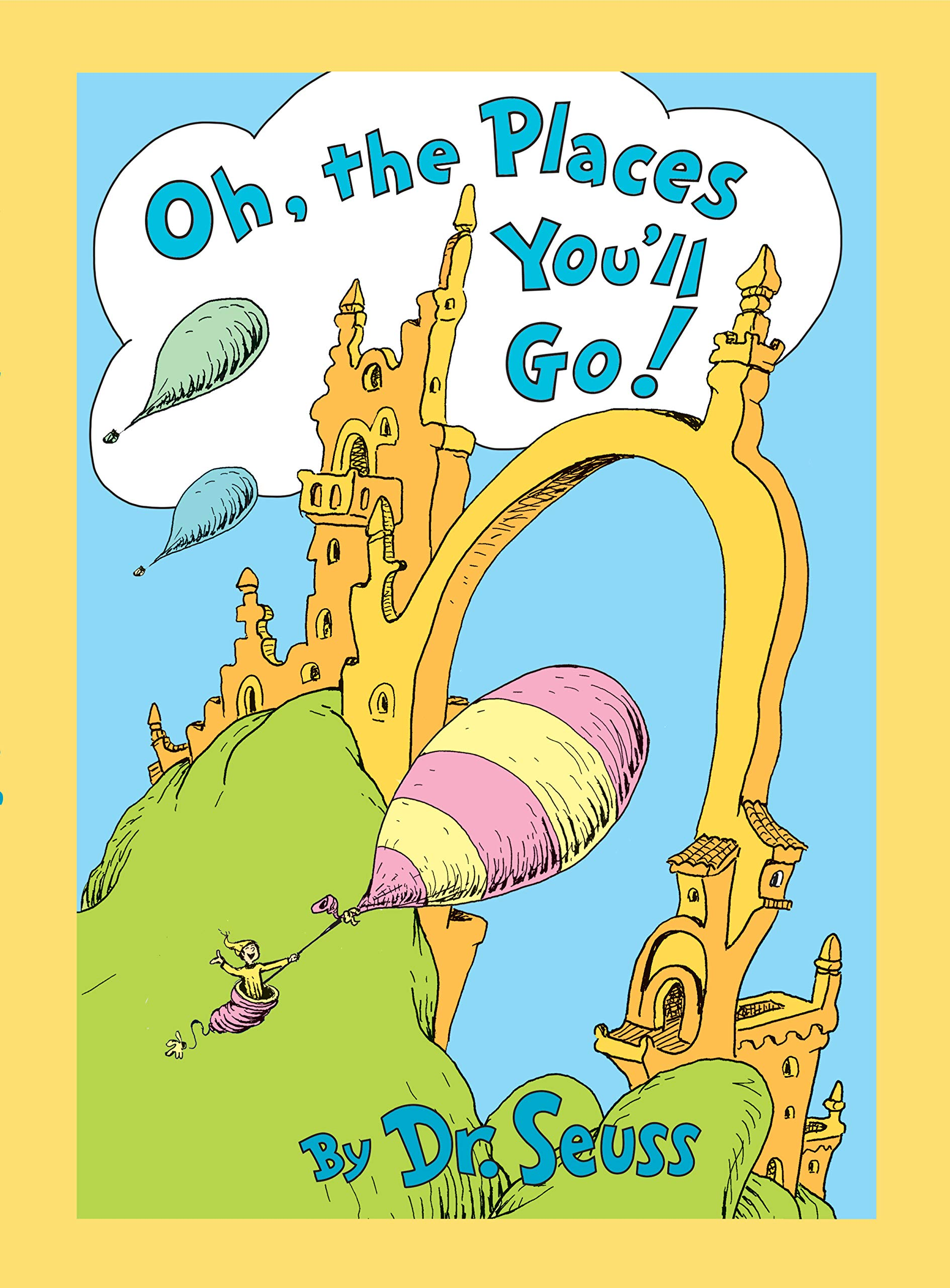 Oh, the Places You'll Go! Lenticular Edition: Dr. Seuss: 9780593119150:  Amazon.com: Books