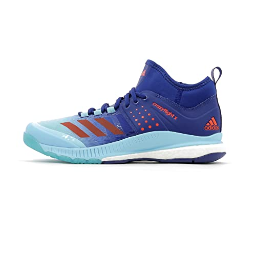 adidas Women's Crazyflight X Mid W Volleyball Shoes Blue ...