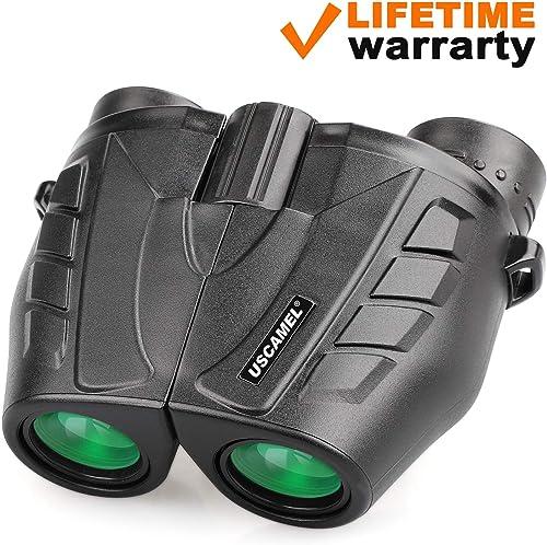 USCAMEL 8×25 Compact Binoculars,HD Pocket Small Mini Binocular