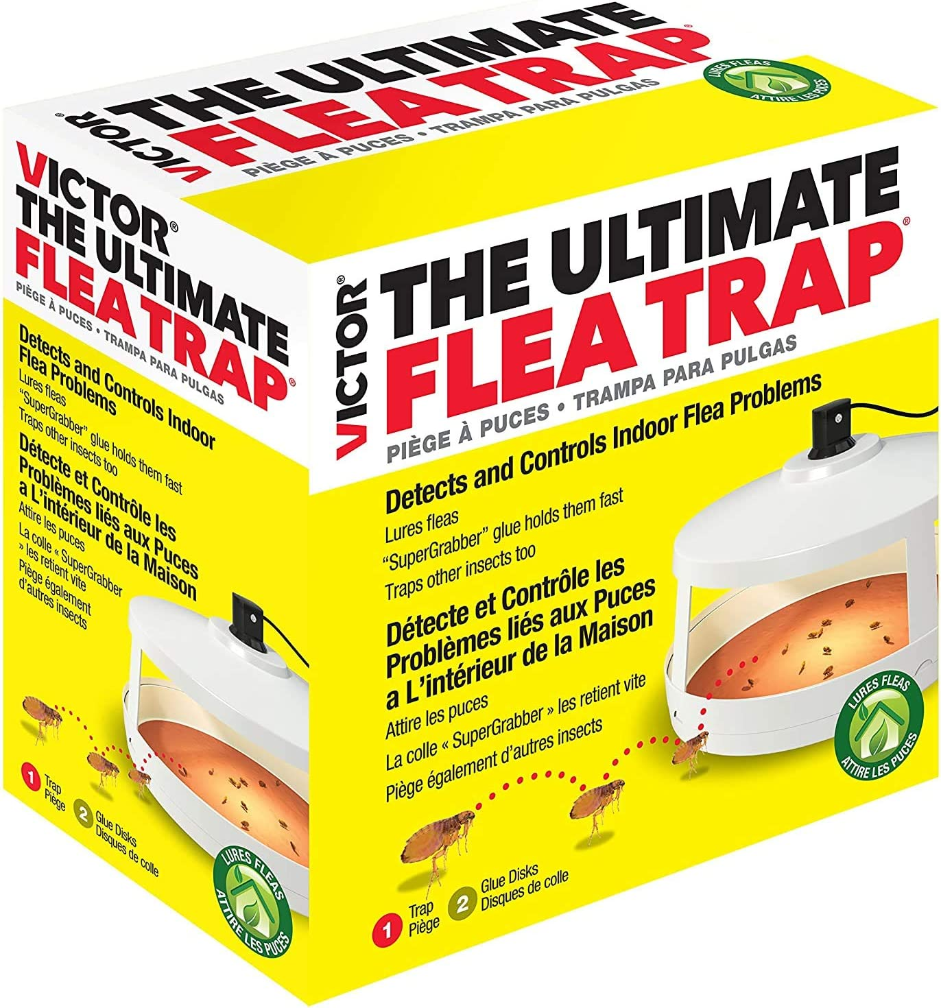 Victor M230A Ultimate Flea Trap : Home Pest Control Traps : Garden & Outdoor