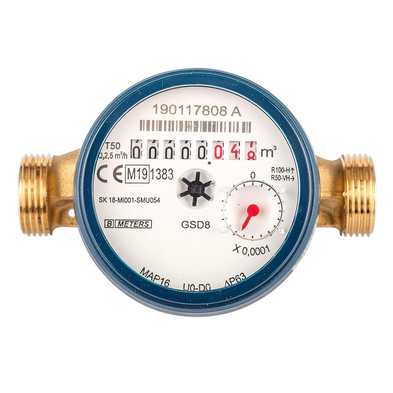 Gut gemocht Wasserzähler QN 1,5 Kaltwasser, BL 110 mm 1/2 Zoll Durchfluss CP03