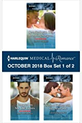 Harlequin Medical Romance October 2018 - Box Set 1 of 2: Reunited with Her Brooding Surgeon\Tempted by Mr. Off-Limits\Second Chance with Her Army Doc Kindle Edition