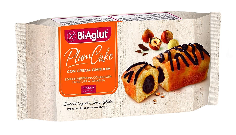 Biaglut Plumcake En Gianduia Gluten 4 piezas de 180 g: Amazon.es: Salud y cuidado personal