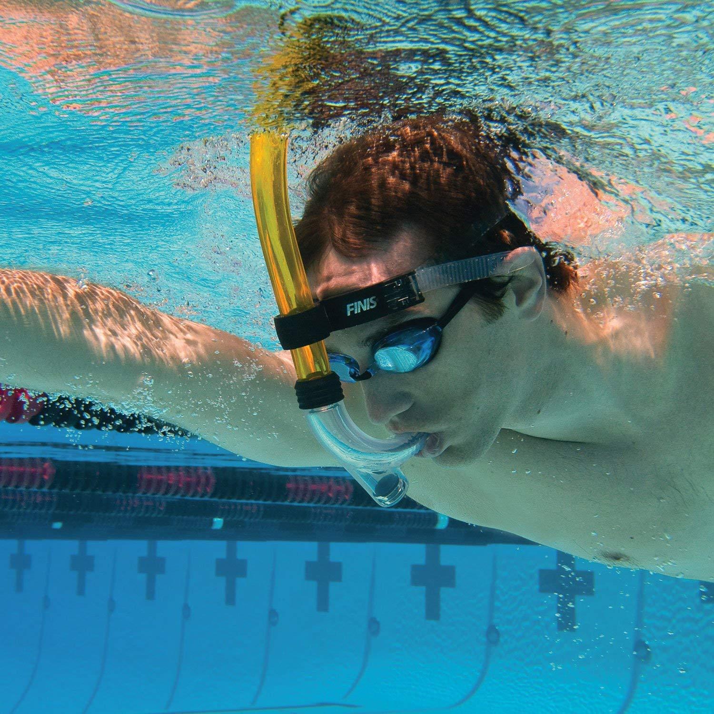 1bbfed801 Snorkel Frontal Swimmer para Natação Finis com Válvula  Amazon.com.br   Esportes e Aventura