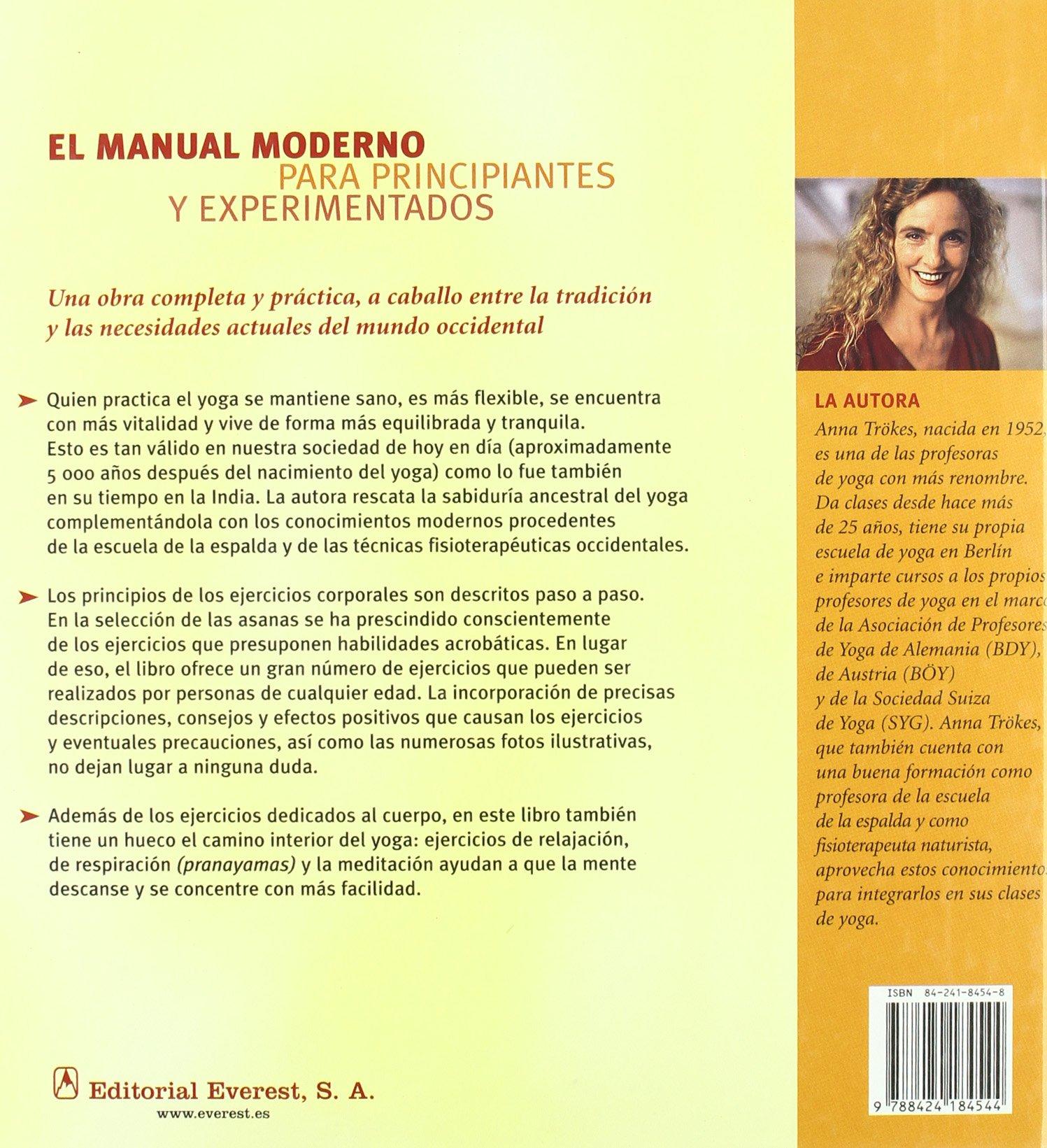 El Gran Libro del Yoga: Un Moderno Metodo para la Practica ...