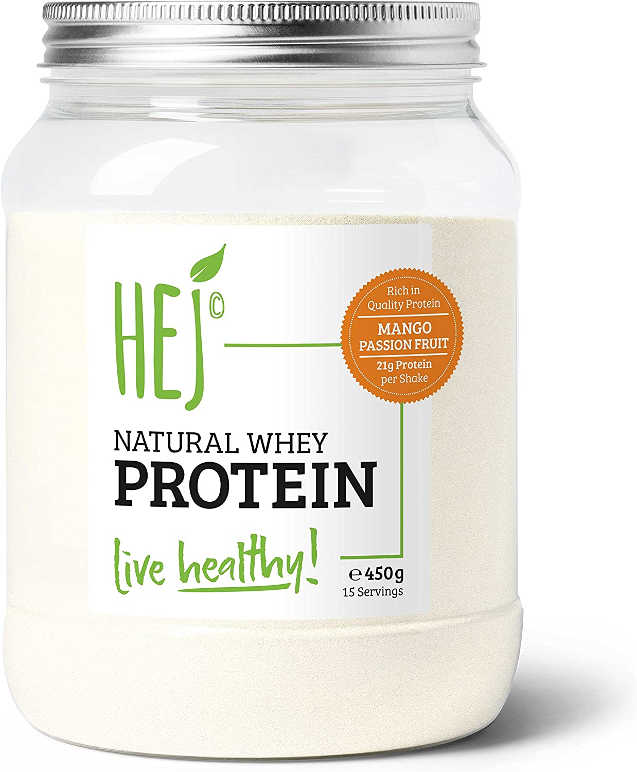 HEJ Natural Natural Whey Protein (450g) 1 Unidad 450 g