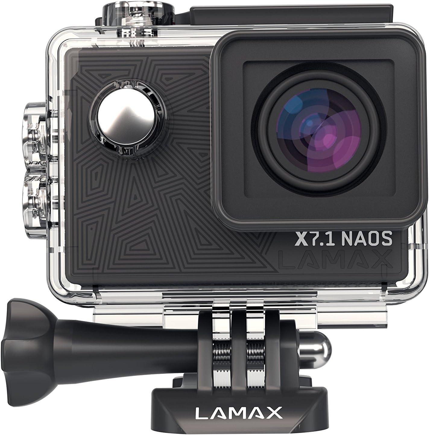 Lamax X7 1 Naos Action Camera Full Hd 1080p Black Camera Photo