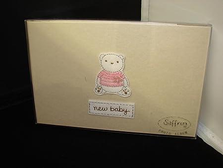 Saffron Pocket Photo Albums New Baby Girl Amazon Co Uk
