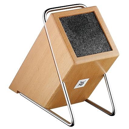 WMF Bamboo Soporte para Cuchillos con Interior Flexible, Madera de bambú