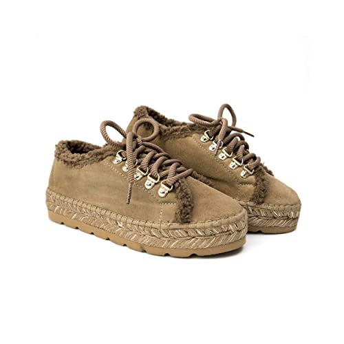 MTBALI - Alpargata Invierno con Yute Impermeable - Modelo Canada: Amazon.es: Zapatos y complementos