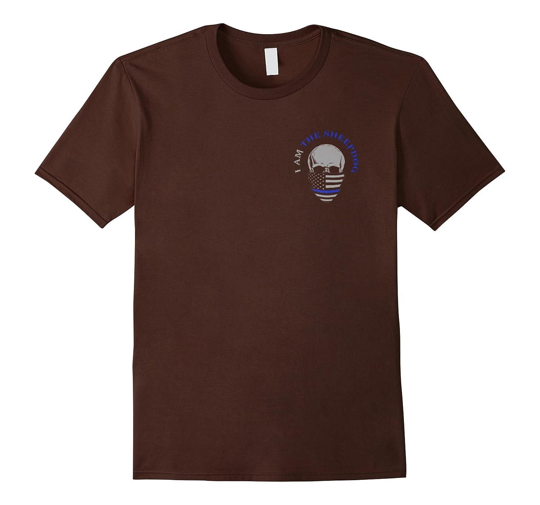 Sheepdog – I Hunt The Evil T-Shirt – I Am The Sheepdog Shirt