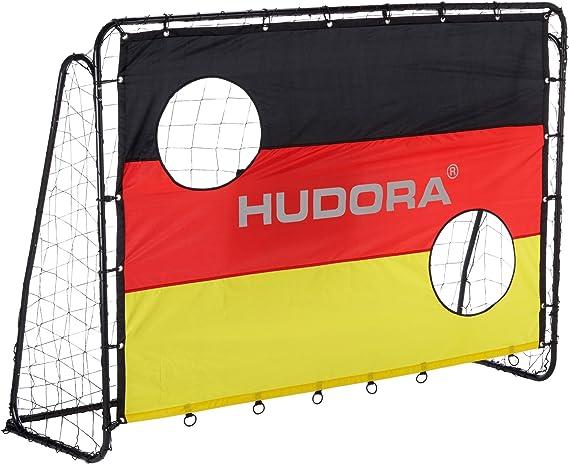 HUDORA Fu/ßball-Tor Stadion 76909 Fu/ßballtor Garten gro/ß