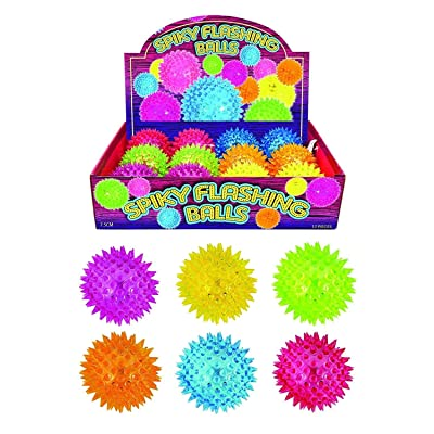 12 X Flashing Spikey Ball Of High Quality: Juguetes y juegos