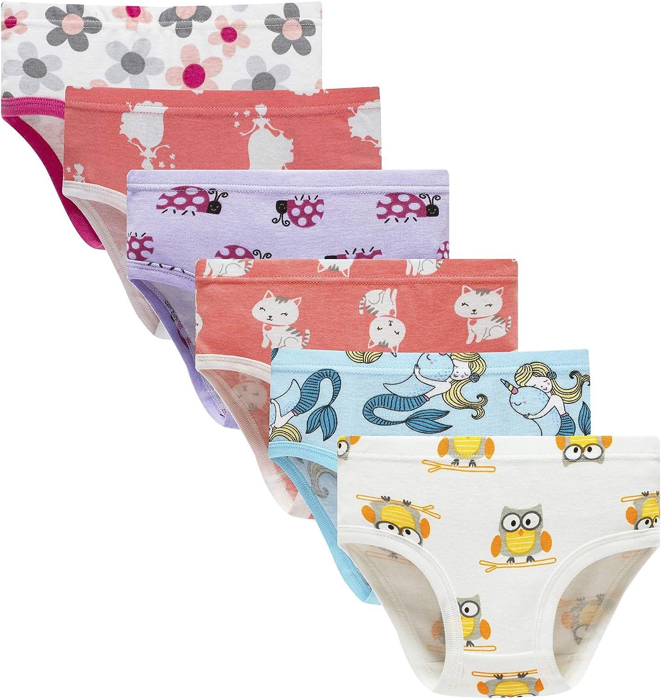 Cadidi Dinos Little Girls Soft Underwear Toddler Baby Panties Kids Briefs