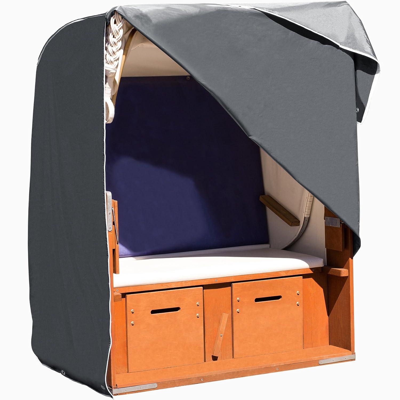 Purovi Telo IMPERMEABILE per DIVANI e POLTRONE da spiaggia e da giardino | Tessuto 420D Oxford | Impermeabile, resistente al vento e raggi UV | Protezione dalle intemperie