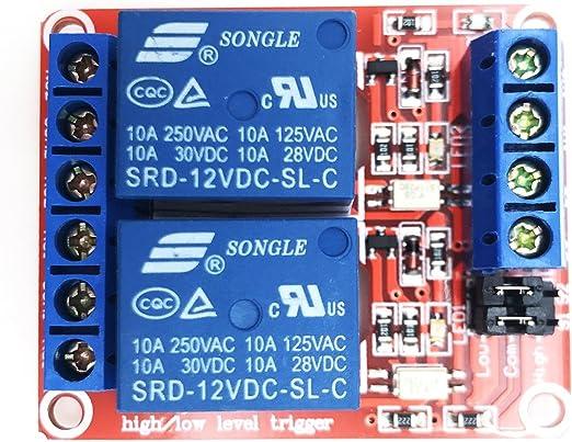 6pcs 1 Channel 12V Relay Module Switch MCU Control US Free