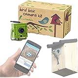 Green Spy Boîte Caméra Cctv Avec Feathers Camera Oiseau Sans Fil HIDE29