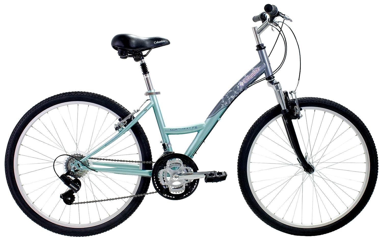 Columbia Northway Women S Comfort Bike Teal Gray 18