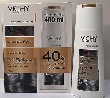 Vichy Dercos champú crema Nutrireparador con keratina 200ml